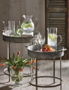 TAG bubbleglass & side tables