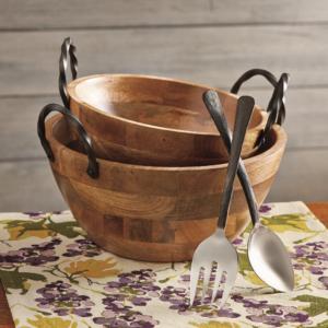 TAG mango wood bowls